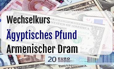 Ägyptisches Pfund in Armenischer Dram