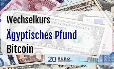 Ägyptisches Pfund in Bitcoin