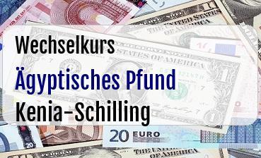 Ägyptisches Pfund in Kenia-Schilling