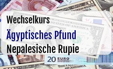 Ägyptisches Pfund in Nepalesische Rupie