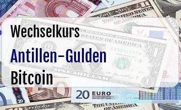 Antillen-Gulden in Bitcoin