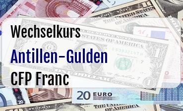 Antillen-Gulden in CFP Franc