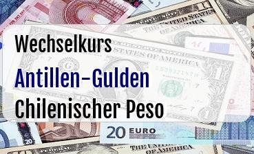 Antillen-Gulden in Chilenischer Peso