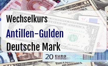 Antillen-Gulden in Deutsche Mark