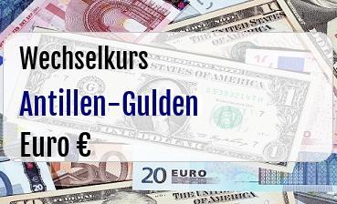 Antillen-Gulden in Euro