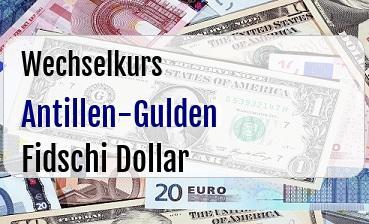 Antillen-Gulden in Fidschi Dollar