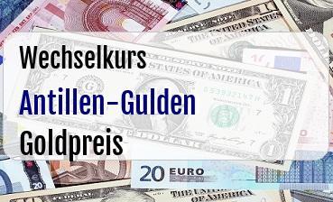 Antillen-Gulden in Goldpreis