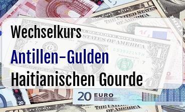 Antillen-Gulden in Haitianischen Gourde