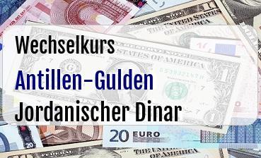 Antillen-Gulden in Jordanischer Dinar