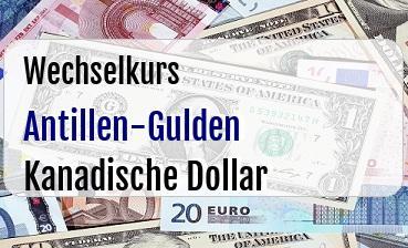 Antillen-Gulden in Kanadische Dollar