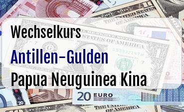 Antillen-Gulden in Papua Neuguinea Kina