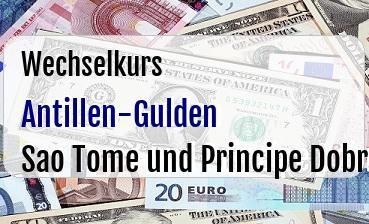 Antillen-Gulden in Sao Tome und Principe Dobra