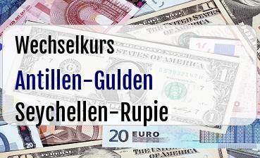 Antillen-Gulden in Seychellen-Rupie