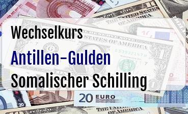 Antillen-Gulden in Somalischer Schilling