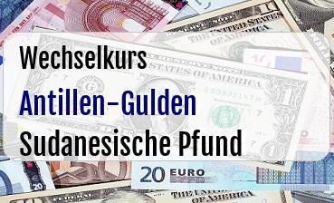 Antillen-Gulden in Sudanesische Pfund