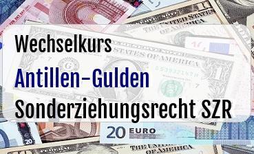 Antillen-Gulden in Sonderziehungsrecht SZR