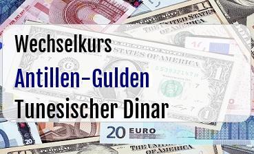 Antillen-Gulden in Tunesischer Dinar