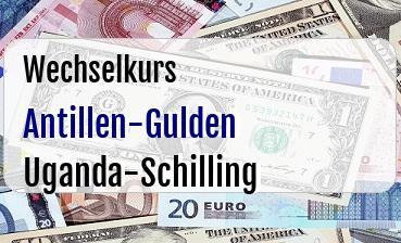 Antillen-Gulden in Uganda-Schilling