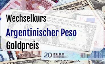 Argentinischer Peso in Goldpreis