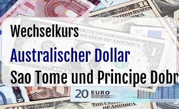 Australischer Dollar in Sao Tome und Principe Dobra