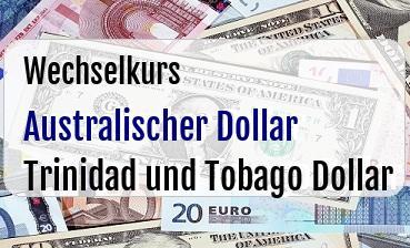 Australischer Dollar in Trinidad und Tobago Dollar