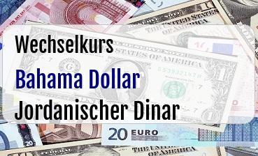 Bahama Dollar in Jordanischer Dinar