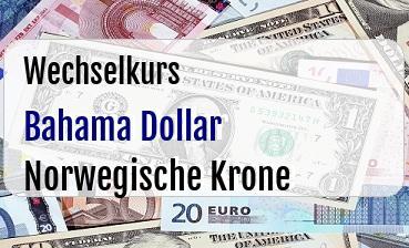 Bahama Dollar in Norwegische Krone