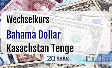 Bahama Dollar in Kasachstan Tenge