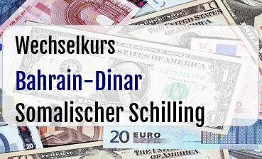 Bahrain-Dinar in Somalischer Schilling