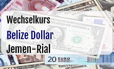 Belize Dollar in Jemen-Rial