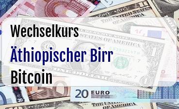 Äthiopischer Birr in Bitcoin