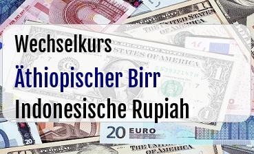 Äthiopischer Birr in Indonesische Rupiah