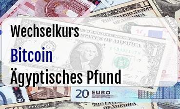 Bitcoin in Ägyptisches Pfund