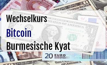 Bitcoin in Burmesische Kyat