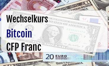 Bitcoin in CFP Franc