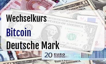 Bitcoin in Deutsche Mark