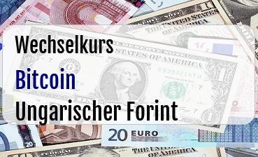 Bitcoin in Ungarischer Forint