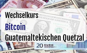 Bitcoin in Guatemaltekischen Quetzal