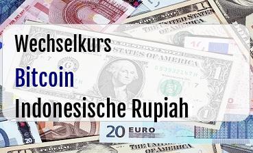Bitcoin in Indonesische Rupiah