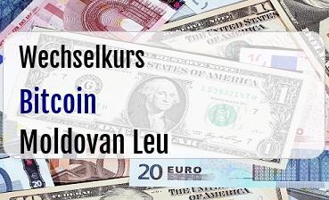 Bitcoin in Moldovan Leu