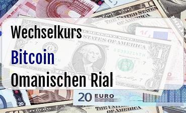 Bitcoin in Omanischen Rial