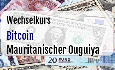Bitcoin in Mauritanischer Ouguiya