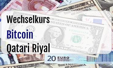 Bitcoin in Qatari Riyal
