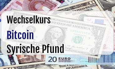 Bitcoin in Syrische Pfund