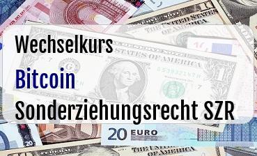 Bitcoin in Sonderziehungsrecht SZR