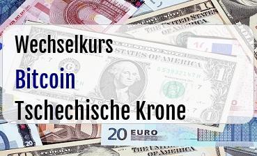 Bitcoin in Tschechische Krone