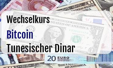 Bitcoin in Tunesischer Dinar
