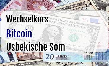 Bitcoin in Usbekische Som