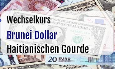 Brunei Dollar in Haitianischen Gourde
