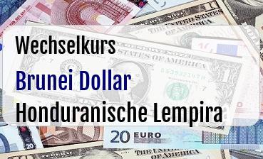Brunei Dollar in Honduranische Lempira